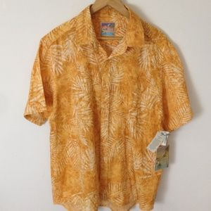 It's 5 O'Clock Somewhere Aloha Button XL Shirt
